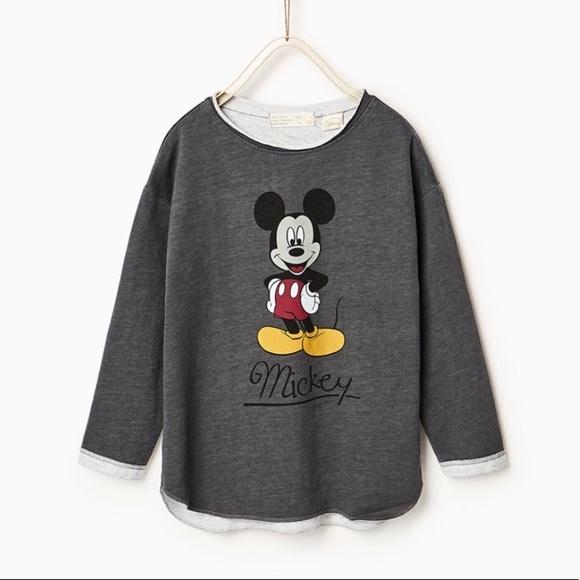 333b3402e9 Zara Toddler Girls Mickey Mouse Sweatshirt. M_5a6ce4a49d20f09a7b976176